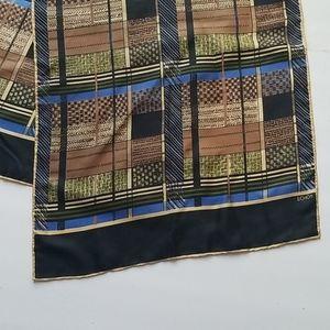Echo Accessories - ECHO - Beautiful 100% silk rolled edge Long scarf,